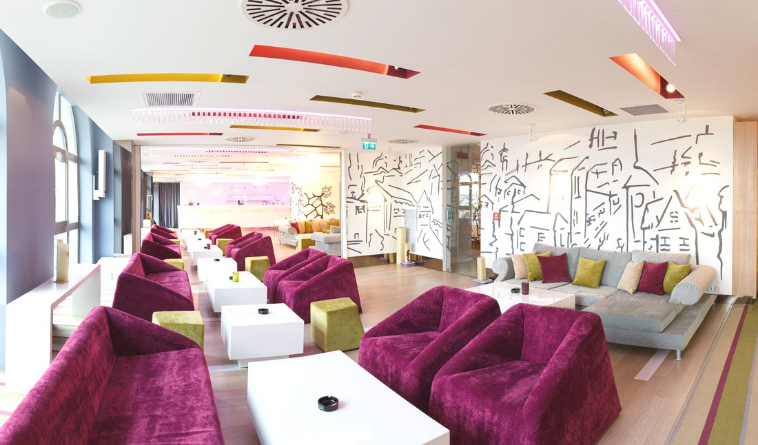 Sofia Sky Lounge at Hotel International in Iasi, Romania